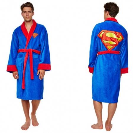 Superman Badjas Fleece