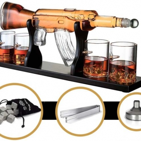 AK-47 Whiskey Decanter Karaf