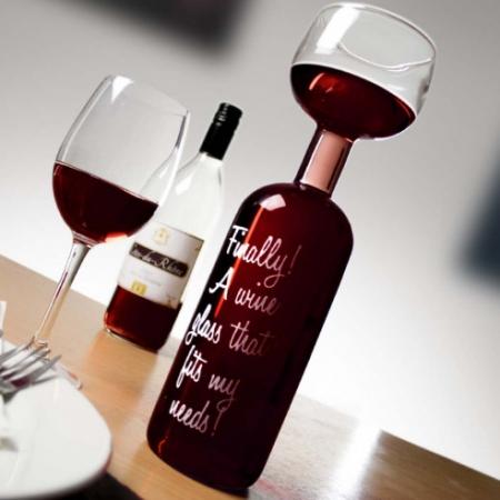 Wijnfles Glas